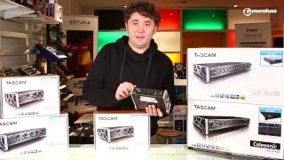 Unboxing Interfaces de audio Tascam Us Series en MicroFusa Madrid