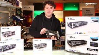 Unboxing Interfaces de audio Tascam Us Series en MicroFusa Madrid