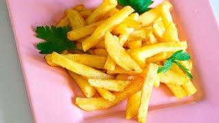 Картофель фри готовим дома Простой рецепт