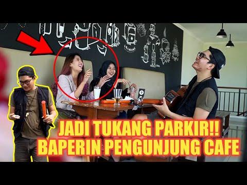 JADI TUKANG PARKIR! BAPERIN PENGUNJUNG CAFE CANTIK