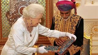 Quboos Sulthan Oman King invites Former Indian President Shankar Dayal Sharma in 1994