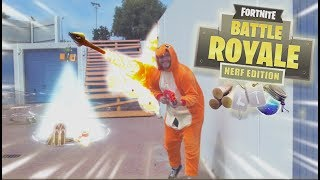 Real Life Fortnite - NERF EDITION