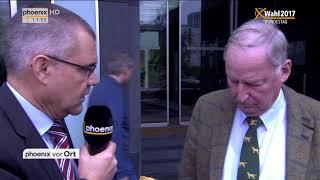 Alexander Gauland zum Verzicht von Frauke Petry auf die Fraktionsmitgliedschaft am 25.09.17