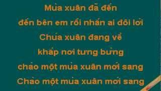 Khúc Ca Xuân Karaoke - Đan Trường - CaoCuongPro