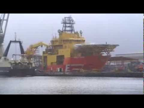 Subsea viking in dock on Orskov Yard