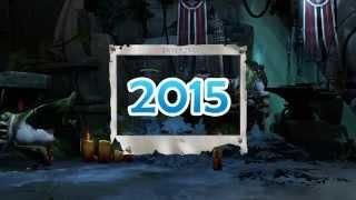 DotA 2 - Итоги 2014 Года! С Новым Годом!