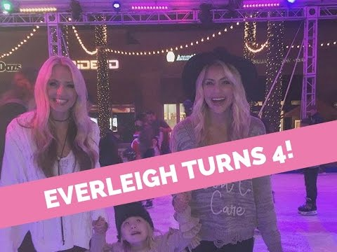 Everleigh Turns 4! Hatchimal, foreverandava's party, ice skating with Savannah & Cole, &more!