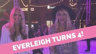 everleigh turns 4 hatchimal foreverandava s party ice skating with savannah cole