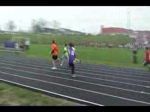 Cullen First 100 Meter Dash (19 Apr 08)