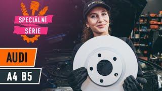 Jak vyměnit Lanko parkovací brzdy на AUDI A4 (8D2, B5) - online zdarma video