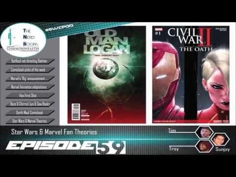 The Nerd Room Episode #59: Star Wars & Marvel Fan Theories