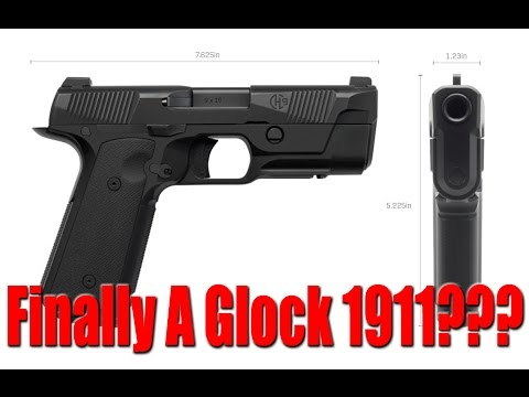 Hudson H9 Pistol: The Best New Gun Of 2017? (Glock 1911?)