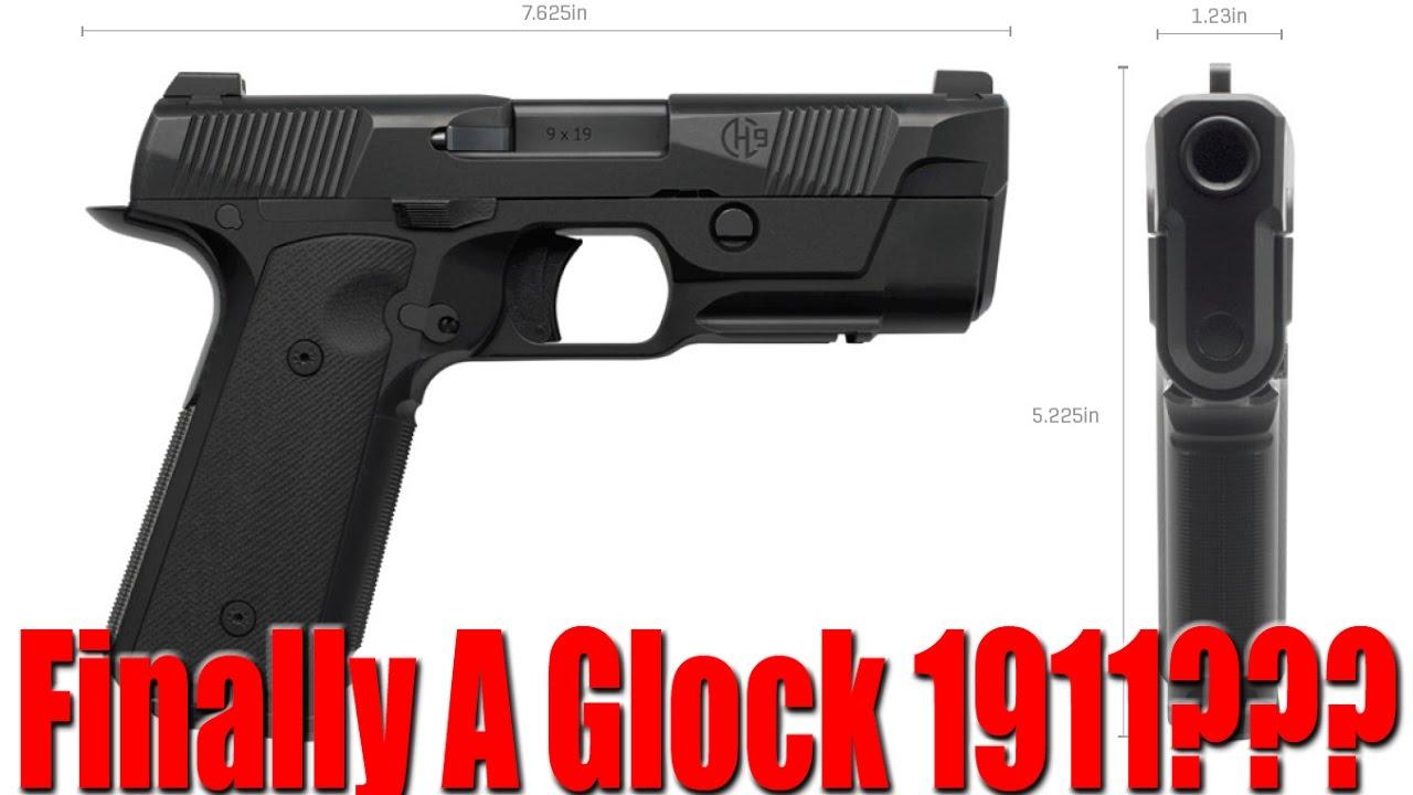Hudson H9 Pistol The Best New Gun Of 2017 Glock 1911
