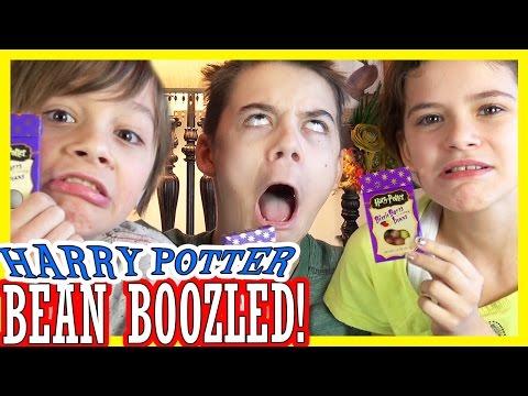 HARRY POTTER BEAN BOOZLED CHALLENGE!! Bertie Bott's Every Flavour Beans! | KITTIESMAMA