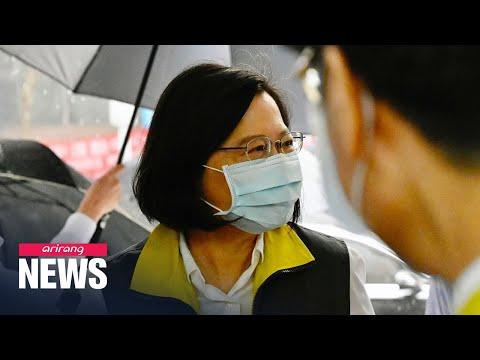 Taiwan's president Tsai Ing-wen starts second term on Wednesday