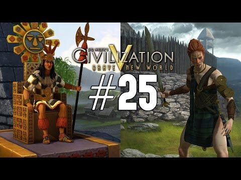 Civilization 5: Emperor Co-op [Celt / Inca] - 25