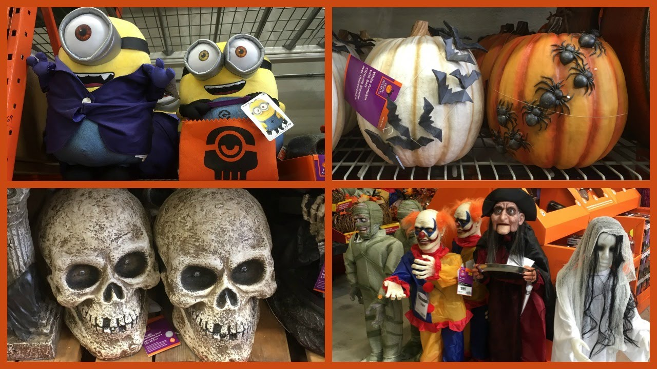 Home depot fall halloween decor 2016 youtube for Home depot halloween decorations 2016