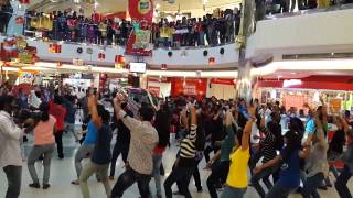 Flash Mob at Oberon mall