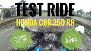 Motovlog 68 - Test Ride (Bukan Review) Honda CBR 250RR | Ciamik Broh !!