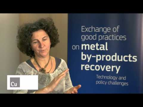 ECI at DG GROWTH Conference on exchanges of good practices on metal by-products recovery