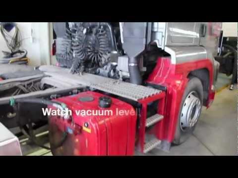 GHH RAND CS1050 Silo Compressor for dry bulk unloading of road tanker trucks