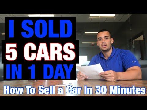 Best Car Sales Training