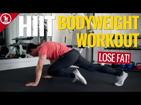 HIIT Bodyweight Workout for Fat Loss (NO EQUIPMENT!)