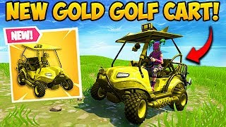 GOLD GOLF CART FOUND! - Fortnite Funny Fails and WTF Moments! #320