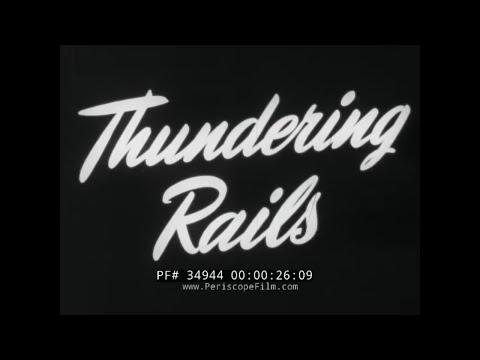 1948 ASSOCIATION OF AMERICAN RAILROADS PROMOTIONAL FILM