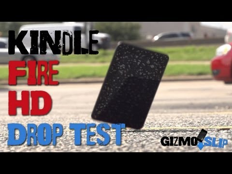 Drop Test: Kindle Fire HD