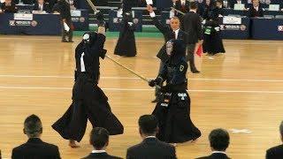 17th World Kendo Championships Round2 ANDO Vs. KOZAKI(Germany)