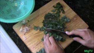 Harvest To Plate - Kale Bruschetta