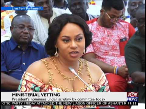 Vetting of Adwoa Safo on Joy News  (27-3-17)