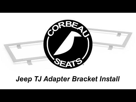 How To Install Corbeau 97-02 Jeep TJ Adapter Brackets