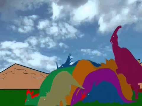 New Dinosaur Stampede Disaster (Newer Soundscape)