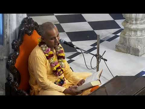 Evening Bhagavad Gita Class 02 22 by  Brahma Samita Prabhu on 13th Mar 2018 At ISKCON Juhu
