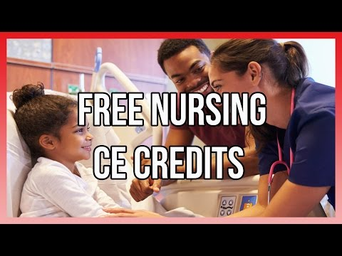 Free Nursing CE Credits - Get Free Access Here