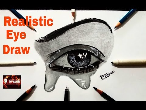 how-to-draw-a-realistic-eye-with-teardrop-(time-lapse)---realistic-drawing