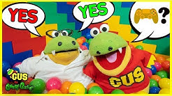 GUS THE GUMMY GATOR DAD SAID YES TO EVERYTHING KIDS WANT FOR 24 HOURS CHALLENGE !