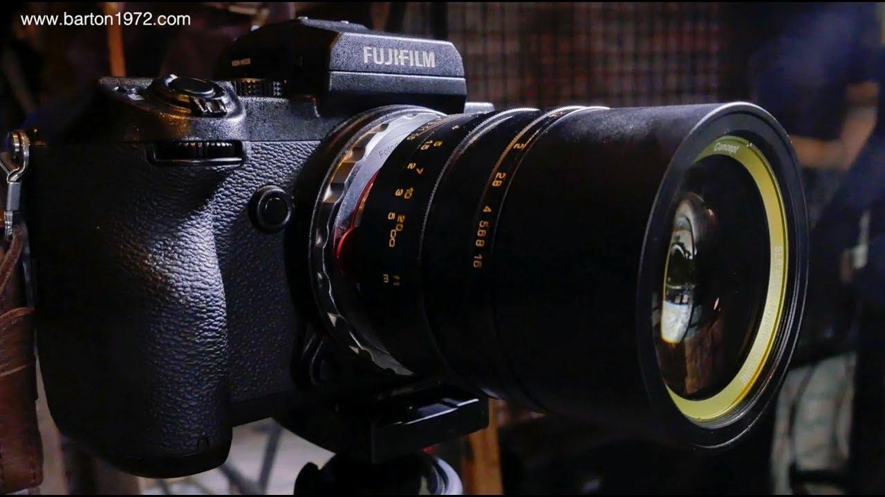 Fujifilm GFX 50S: SLR Magic 0 95, Focus Bracketing, Fuji GFX vs Sony