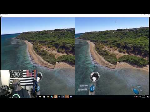Former SAC Air Force base Ramey Aguadilla Puerto Rico through the Oculus rift using Google Earth!