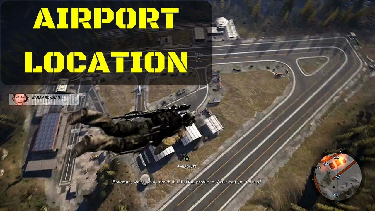 Ghost Recon Wildlands Karte.Where To Find Airport In Wildlands