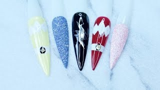 HOW TO: Power Ranger Nails ♥︎