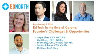 EdNorth: Ed-Tech in the time of Coronavirus: Founder's Challenges & Opportunities