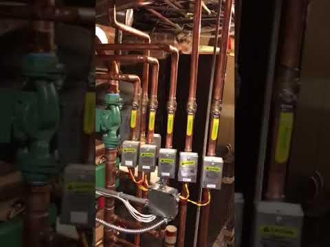 A-Team Gas Heat High Efficiency Gas Boiler Installation