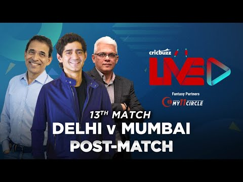 Cricbuzz Live:Match 13, Delhi v Mumbai,Post-match show