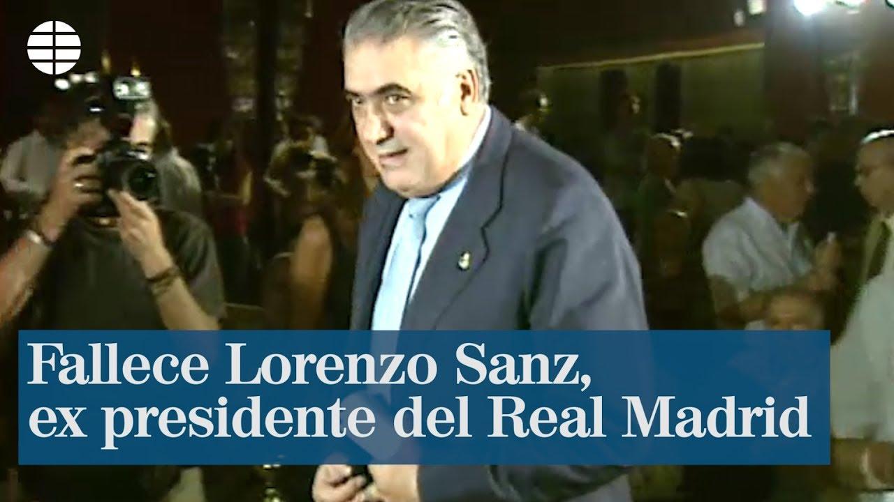 Con Lorenzo Sanz, quien falleci por el coronavirus, el Real Madrid ...