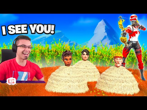 Last person to leave the hay WINS!