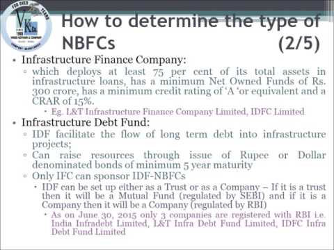 Non-Banking Financial Company (NBFC) - A Quick Guide