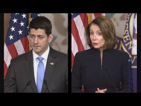 Pelosi, Ryan Differ in School Massacre Response